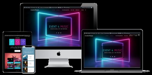 Mockup Event4Music